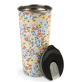 Cambridge® CM07159 Reusable Ditsy Sippy Cup With Lid | 500 ml | Shatter-proof Thumbnail 2