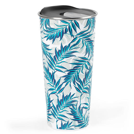 Cambridge® CM07160 Reusable Tropical Nights Sippy Cup With Lid   500 ml   Shatter-proof