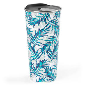 Cambridge® CM07160 Reusable Tropical Nights Sippy Cup With Lid | 500 ml | Shatter-proof
