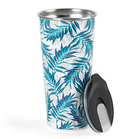 Cambridge® CM07160 Reusable Tropical Nights Sippy Cup With Lid   500 ml   Shatter-proof Thumbnail 2