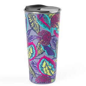 Cambridge® CM07161 Reusable Wild Tropics Sippy Cup With Lid | 500 ml | Shatter-proof Thumbnail 1