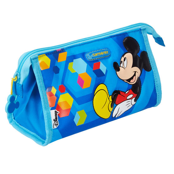 Samsonite LU0191 Polyester Mickey Toiletry Bag | Perfect for Storing Items for Kids