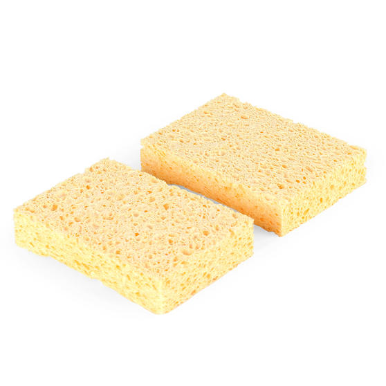 Beldray® LA076335EU7 Eco Delicate Cellulose Sponge | 2 Pack | Perfect for Cleaning Delicate Items