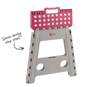 Kleeneze® KL064479EU Large Step Stool with Carry Handle  Lightweight   Folds Easily for Compact Storage   Ideal for Hard to Reach Places Thumbnail 2