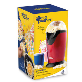 Giles & Posner EK0493G Popcorn Maker with Measuring Cup | 1200 W | Tasty Popcorn in 3 Minutes | No Oil Needed Thumbnail 6