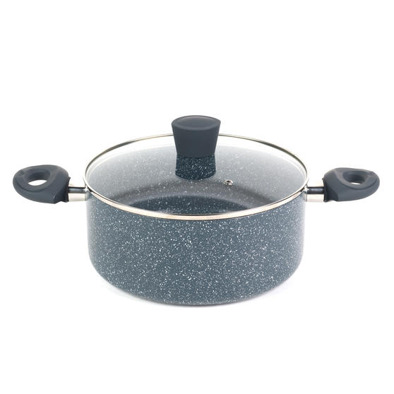 Russell Hobbs Blue Marble 24 cm Non-Stick Stockpot, Pressed Aluminium Preview