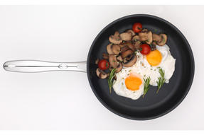 Russell Hobbs Optimum Collection Stainless Steel Frying Pan, 28 cm Thumbnail 3