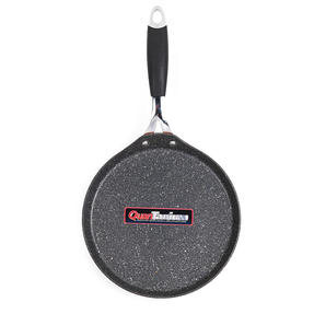 Bergner BGIC-1101 Crepe and Pancake Pan, 24 cm | Quantanium Multi-Coat Non-Stick Coating | Copper | Silicone Handle | Forged Aluminium Thumbnail 4