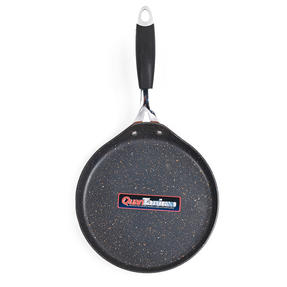 Bergner BG-7917-CP Just for Chef?s Crepe and Pancake Pan, 24 cm   Quantanium Multi-Coat Non-Stick Coating   Copper   Silicone Handle   Forged Aluminium Thumbnail 4