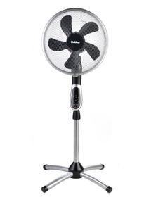 Beldray® EH1331 Premium 360° Oscillating Pedestal Fan with Remote Control | 16 Inch | 50 W | 3 Speeds Thumbnail 1