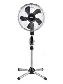 Beldray® EH1331 Premium 360° Oscillating Pedestal Fan with Remote Control | 16 Inch | 50 W | 3 Speeds