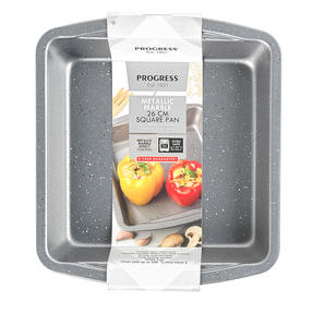 Progress® BW08261EU Non-Stick Metallic Marble Square Pan | 26 cm | Carbon Steel | Dishwasher Safe Thumbnail 3