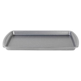 Progress® BW08282EU Non-Stick Metallic Marble Baking Tray | 38 cm | Carbon Steel | Dishwasher Safe Thumbnail 1