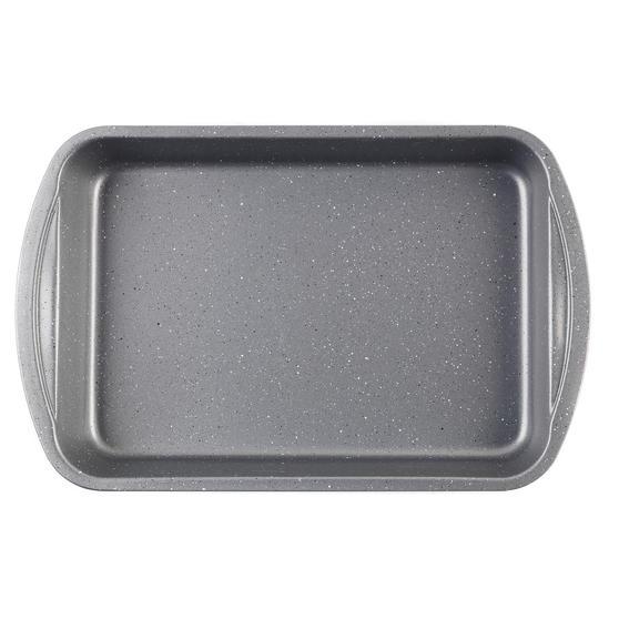 Progress® BW08283EU Non-Stick Metallic Marble Roaster   38 cm   Carbon Steel