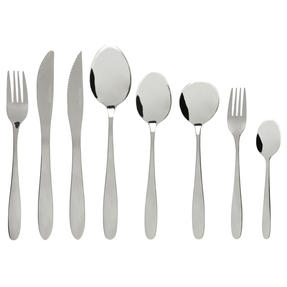 Progress® BW09650EU Oxford Kitchen Dining Cutlery Set, Stainless Steel, 58 Piece
