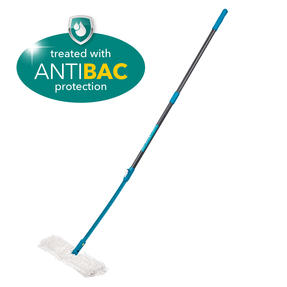 Beldray LA026750UFEU7 Anti Bac Double Sided Bending Mop | Treated with Anti-Bac Protection | Turquoise Thumbnail 3