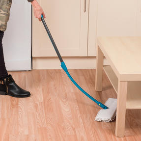 Beldray LA026750UFEU7 Anti Bac Double Sided Bending Mop | Treated with Anti-Bac Protection | Turquoise Thumbnail 5