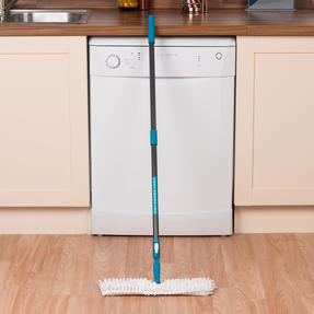 Beldray LA026750UFEU7 Anti Bac Double Sided Bending Mop | Treated with Anti-Bac Protection | Turquoise Thumbnail 9