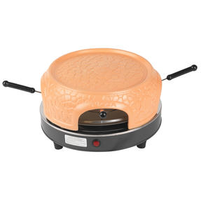Giles & Posner® EK4025G Family Sharing Pizza Maker with Terracotta Dome | 800 W | Serve up to 4 Mini Pizzas at Once | Power Ready and Indicator Lights Thumbnail 3