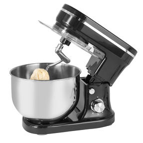 Salter® EK4245BLACK Stand Mixer with 6 Speed Settings and 5 Litre Capacity, 1200 W, Stainless Steel, Black Thumbnail 7