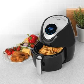 Salter® EK4221 Digital Hot Air Fryer with Non-Stick Cooking Basket, 4.5L, 1300 W Thumbnail 2