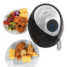 Salter® EK4221 Digital Hot Air Fryer with Non-Stick Cooking Basket, 4.5L, 1300 W Thumbnail 3