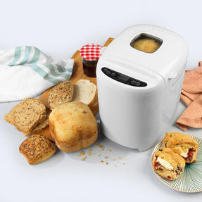 Progress® EK4219PVDEEU7 Digital Bread Maker with European Plug | 550 W | Rapid Bake | 11 Baking Functions | LCD Display | Cool-Touch Housing | White Thumbnail 3