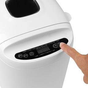 Progress® EK4219PVDEEU7 Digital Bread Maker with European Plug | 550 W | Rapid Bake | 11 Baking Functions | LCD Display | Cool-Touch Housing | White Thumbnail 4