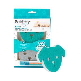 Beldray® LA075734EU7 Pet Plus+ Pet Bowl Sponge | Pack of 2 Thumbnail 1