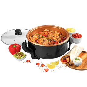 Giles and Posner EK4247 Multi Meal Maker with 5 Heat Settings, 1500 W, 32cm Thumbnail 1