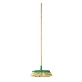 Beldray LA075277EU Eco Classic Floor Broom | 120 cm Handle Length , FSC® Wooden Handle Natural