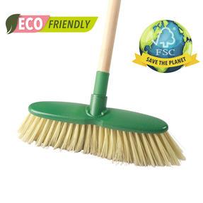Beldray LA075277EU Eco Classic Floor Broom | 120 cm Handle Length , FSC® Wooden Handle Natural Thumbnail 2