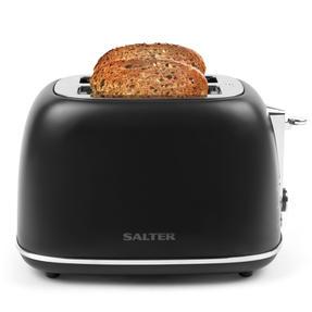 Salter® EK3398LDLBLK Naturals 2-Slice Toaster, 815 W, Black Thumbnail 2