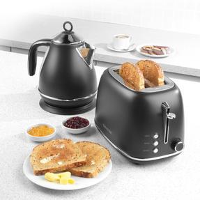 Salter® EK3398LDLBLK Naturals 2-Slice Toaster, 815 W, Black Thumbnail 3