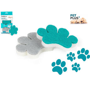 Beldray® LA075659EU7 Pet Plus Pet Bowl Sponge | Super Tough | Double-Sided | Ergonomic Shape | Pack of 2 Thumbnail 2