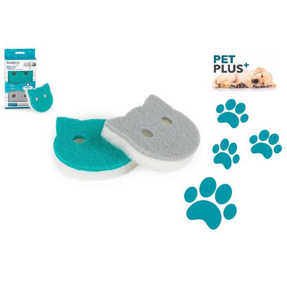 Beldray® LA075710EU7 Pet Plus Cat Pet Bowl Sponges | Super Tough | Double-Sided  Thumbnail 3