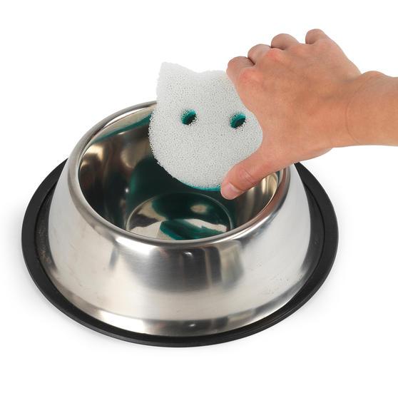 Beldray® LA075710EU7 Pet Plus Cat Pet Bowl Sponges | Super Tough | Double-Sided  Thumbnail 5