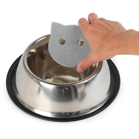 Beldray® LA075710EU7 Pet Plus Cat Pet Bowl Sponges | Super Tough | Double-Sided  Thumbnail 6