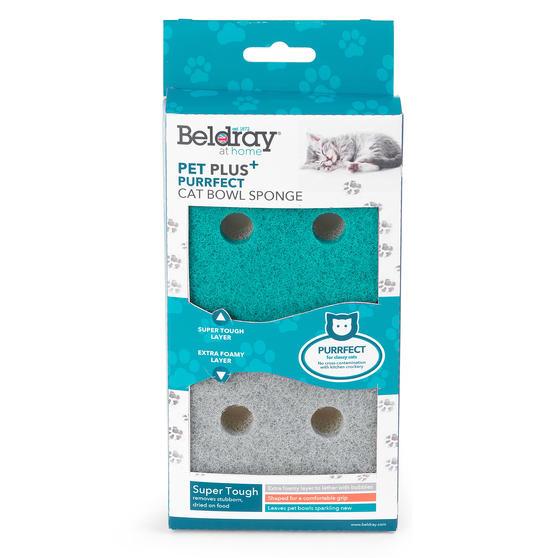 Beldray® LA075710EU7 Pet Plus Cat Pet Bowl Sponges | Super Tough | Double-Sided  Thumbnail 7
