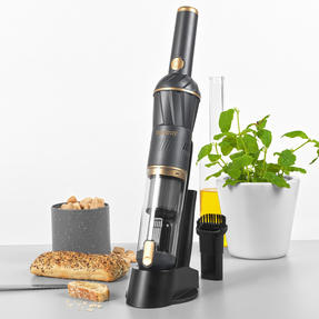 Beldray® BEL01096 AIRLITE Cordless Hand Vacuum | Including a Countertop Store and Charge Base | 100 ml Dust Capacity | HEPA Filter | Graphite Special Edition Thumbnail 3
