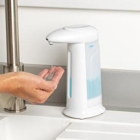 Beldray LA076595EU7  Refillable 350ml Automatic Soap Dispenser| Touchless and Handsfree Design Thumbnail 2