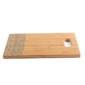 George Wilkinson® BW09609EU Bamboo Chopping Board with Nordic Decal Design | 32.7 x 25 cm | FSC Certified Thumbnail 2