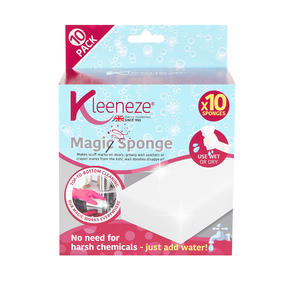 Kleeneze® KL076519EU7 Magic Sponge | Just Add Water | Multipurpose | Pack Of 10
