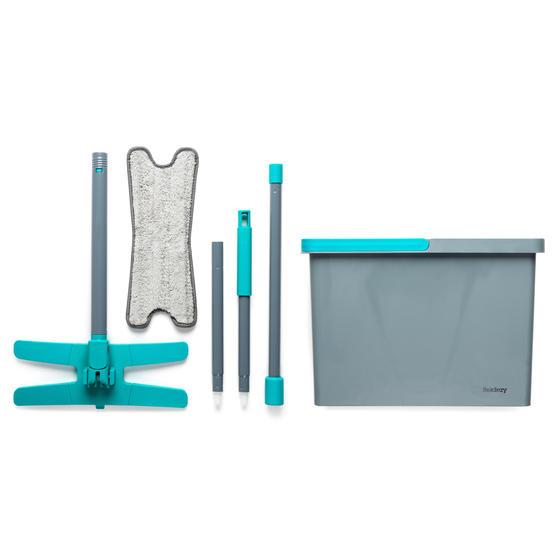 Beldray® LA071477EU7 Pet Plus+ TPR X-Shape Mop and Bucket | Built-In Wring Funct Thumbnail 1