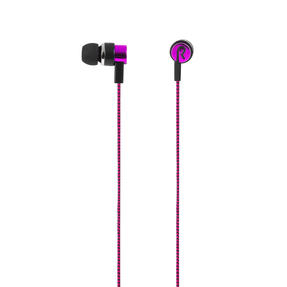 Intempo® EE3794BRYSTKEU1 Encore WS 15 Earphones | Superior Sound | Tangle Free Cable | Soft Touch Finish | Berry Thumbnail 2