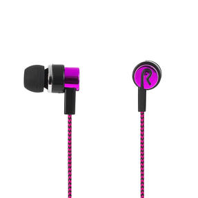 Intempo® EE3794BRYSTKEU1 Encore WS 15 Earphones | Superior Sound | Tangle Free Cable | Soft Touch Finish | Berry Thumbnail 3