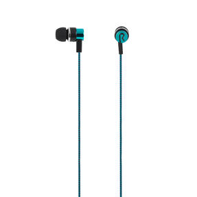 Intempo® EE3794TEASTKEU1 Encore WS 15 Earphones | Superior Sound | Tangle Free Cable | Soft Touch Finish | Teal Thumbnail 2