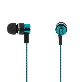 Intempo® EE3794TEASTKEU1 Encore WS 15 Earphones | Superior Sound | Tangle Free Cable | Soft Touch Finish | Teal Thumbnail 3