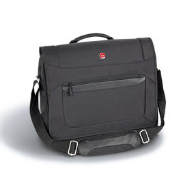 Wenger W73012292 Business Messenger Bag | 16 Inches | Padded Laptop Computer Pocket | Black Thumbnail 2