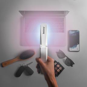 Beldray® EE5968WHTSTKEU7 AntiBac Compact UV-C Light Sterilisation Wand   Portable/Foldable Sanitiser   Rechargeable Battery Thumbnail 3